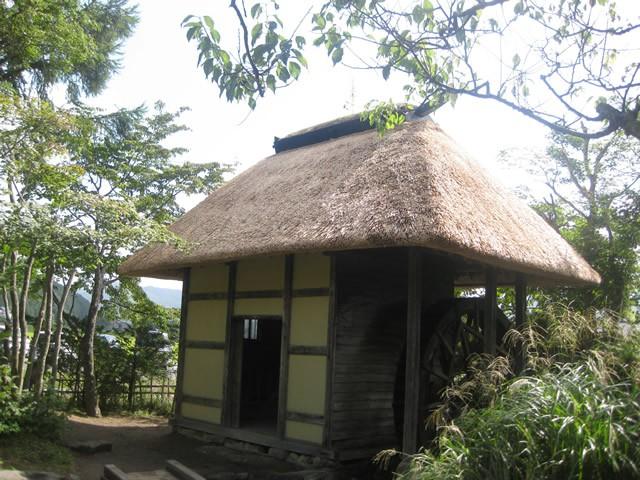 伝承園の水車小屋